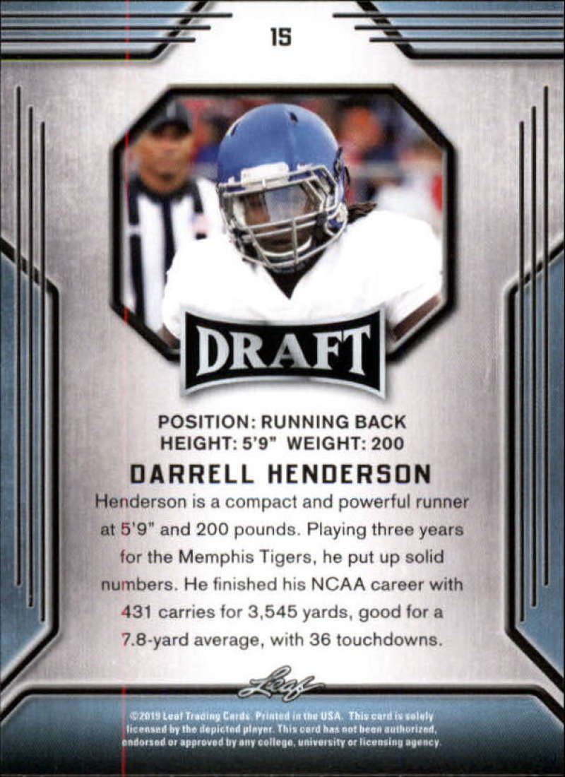 2019-Leaf-Draft-Football-Base-Singles-1-90-Pick-Your-Cards thumbnail 31