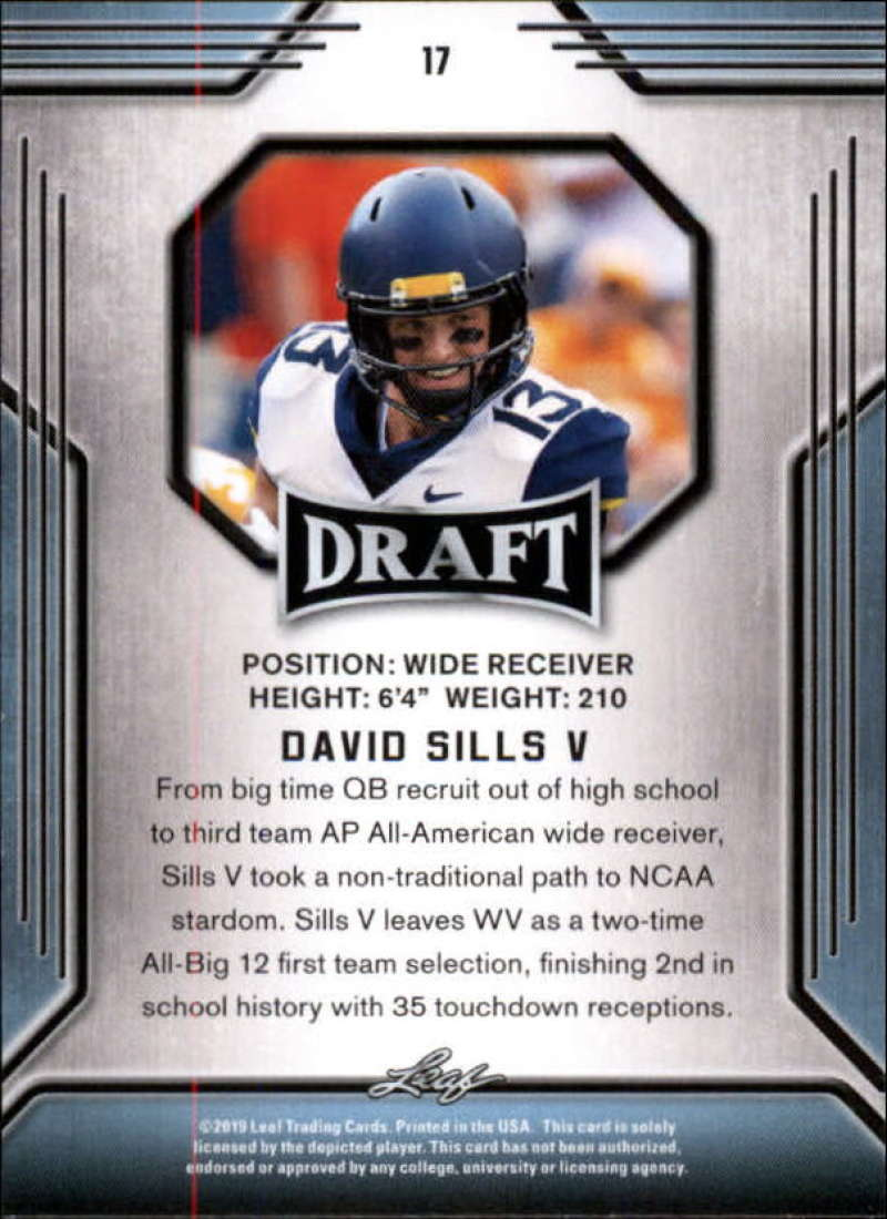 2019-Leaf-Draft-Football-Base-Singles-1-90-Pick-Your-Cards thumbnail 35