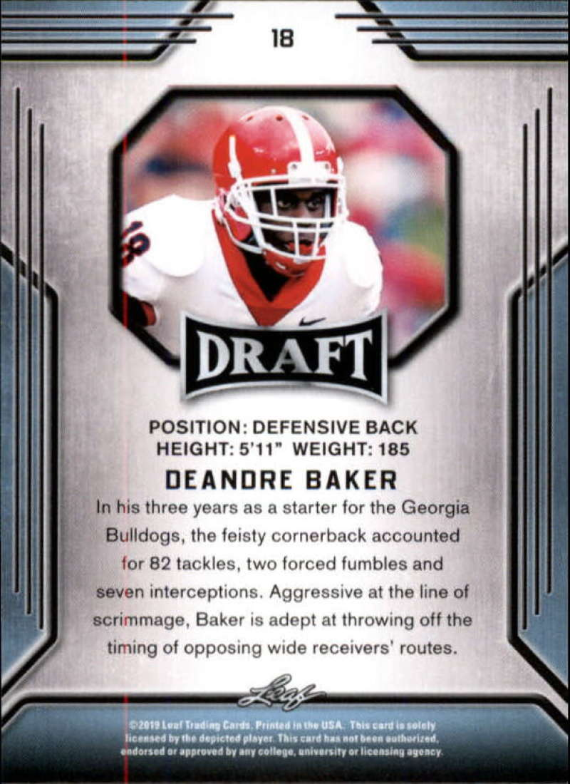 2019-Leaf-Draft-Football-Base-Singles-1-90-Pick-Your-Cards thumbnail 37
