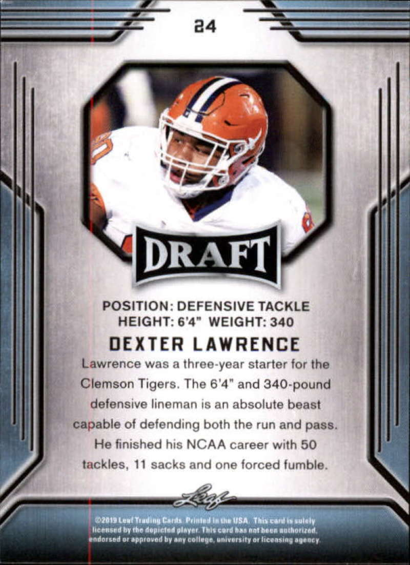 2019-Leaf-Draft-Football-Base-Singles-1-90-Pick-Your-Cards thumbnail 49