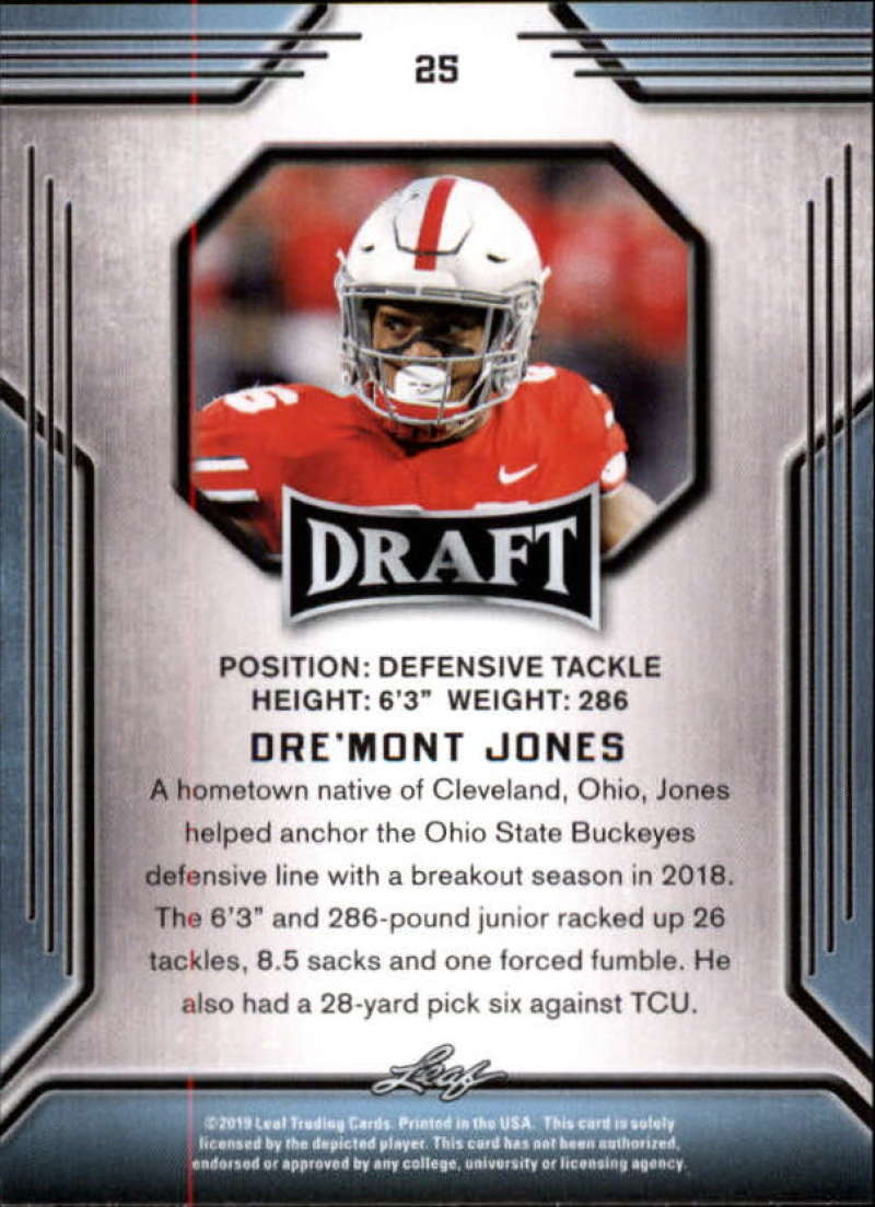 2019-Leaf-Draft-Football-Base-Singles-1-90-Pick-Your-Cards thumbnail 51