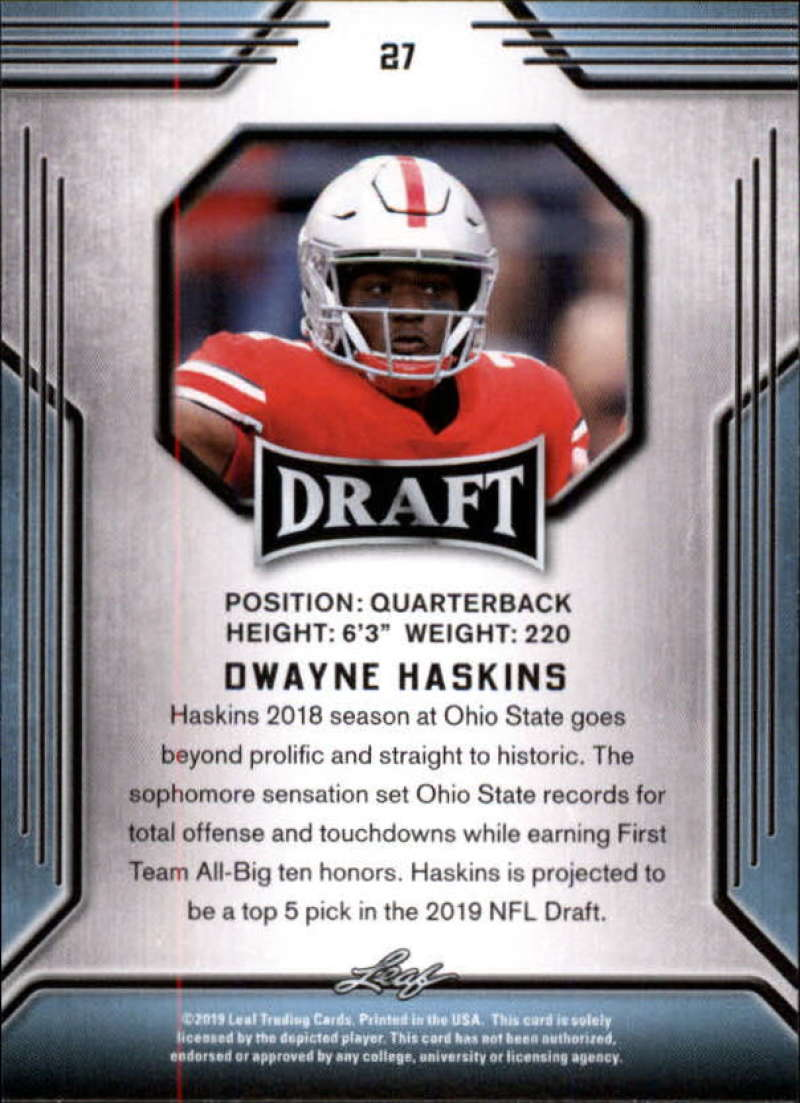 2019-Leaf-Draft-Football-Base-Singles-1-90-Pick-Your-Cards thumbnail 55