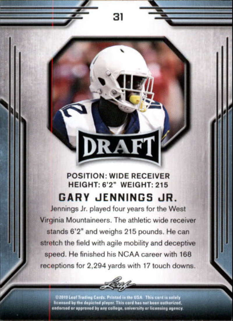 2019-Leaf-Draft-Football-Base-Singles-1-90-Pick-Your-Cards thumbnail 61