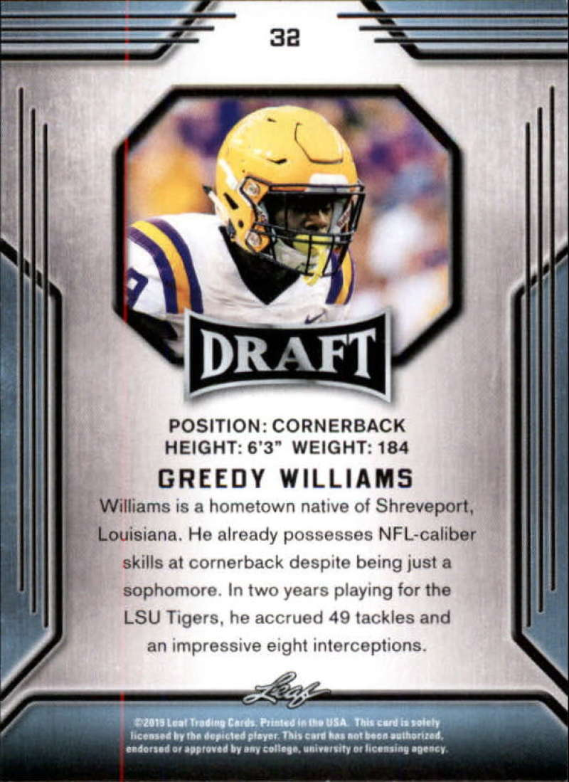 2019-Leaf-Draft-Football-Base-Singles-1-90-Pick-Your-Cards thumbnail 63