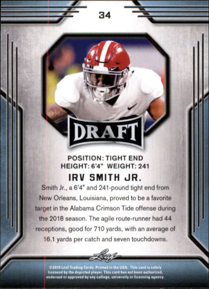 2019-Leaf-Draft-Football-Base-Singles-1-90-Pick-Your-Cards thumbnail 67