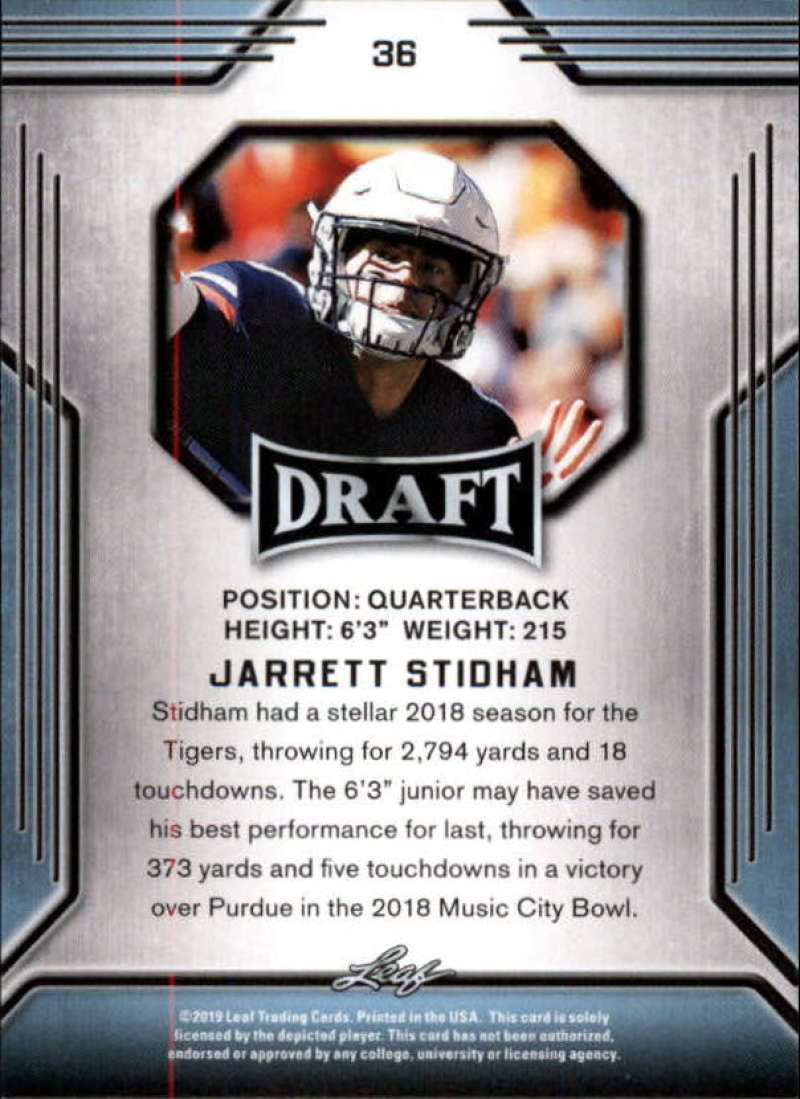 2019-Leaf-Draft-Football-Base-Singles-1-90-Pick-Your-Cards thumbnail 69