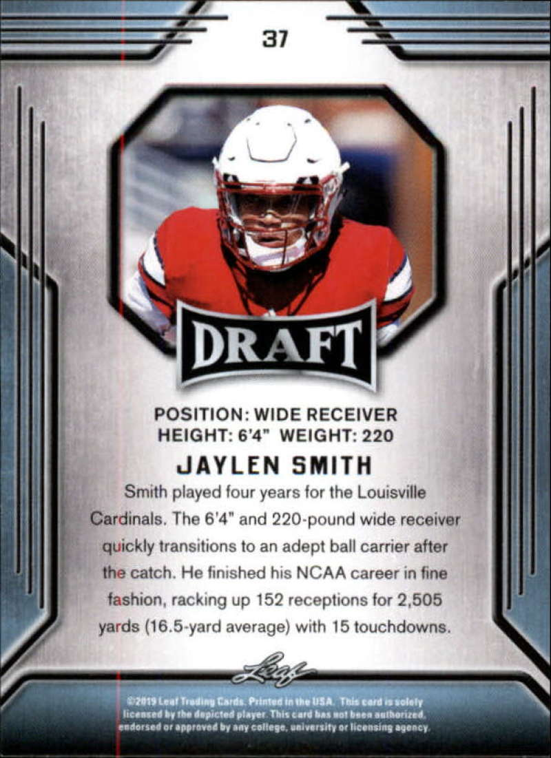2019-Leaf-Draft-Football-Base-Singles-1-90-Pick-Your-Cards thumbnail 71