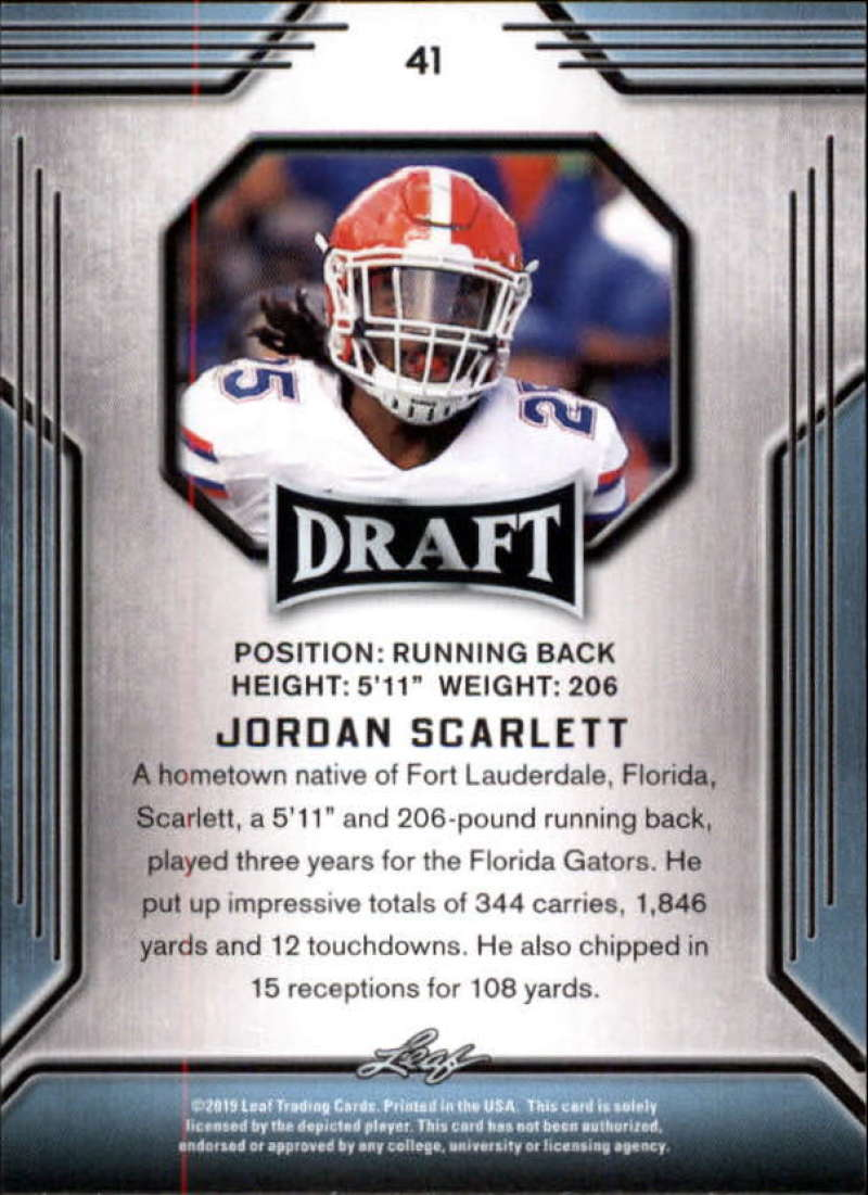 2019-Leaf-Draft-Football-Base-Singles-1-90-Pick-Your-Cards thumbnail 79