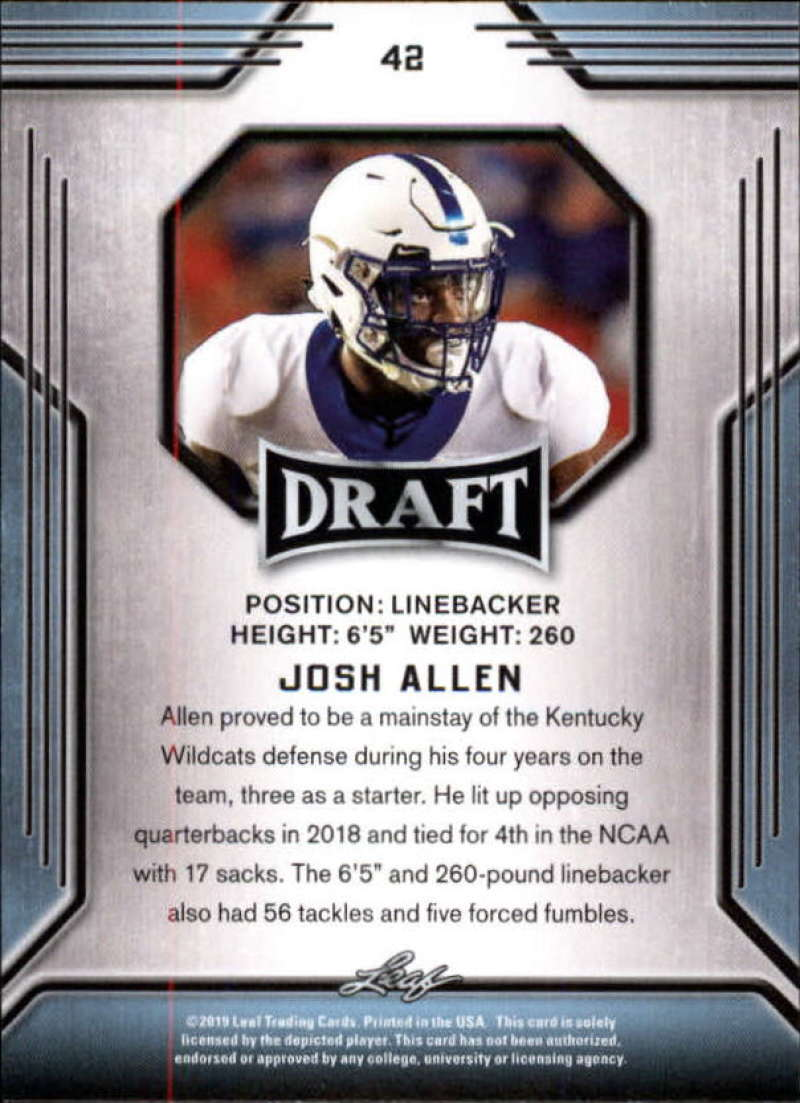 2019-Leaf-Draft-Football-Base-Singles-1-90-Pick-Your-Cards thumbnail 81