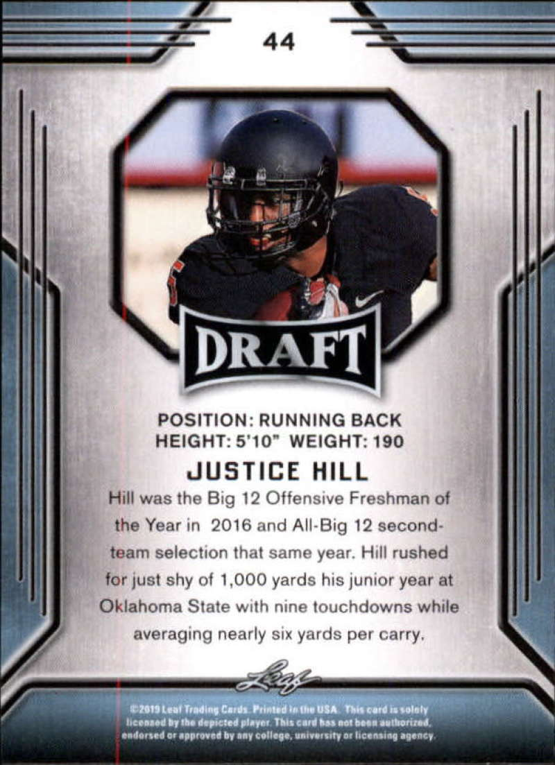 2019-Leaf-Draft-Football-Base-Singles-1-90-Pick-Your-Cards thumbnail 85