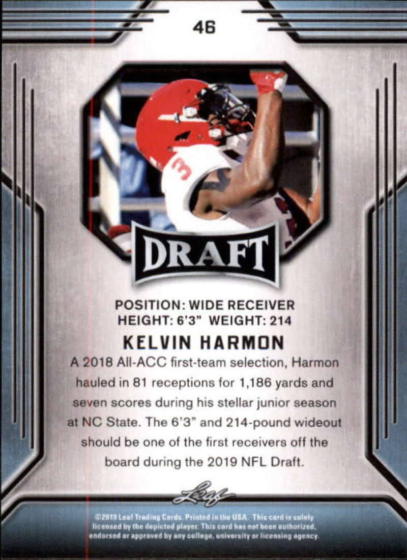 2019-Leaf-Draft-Football-Base-Singles-1-90-Pick-Your-Cards thumbnail 89