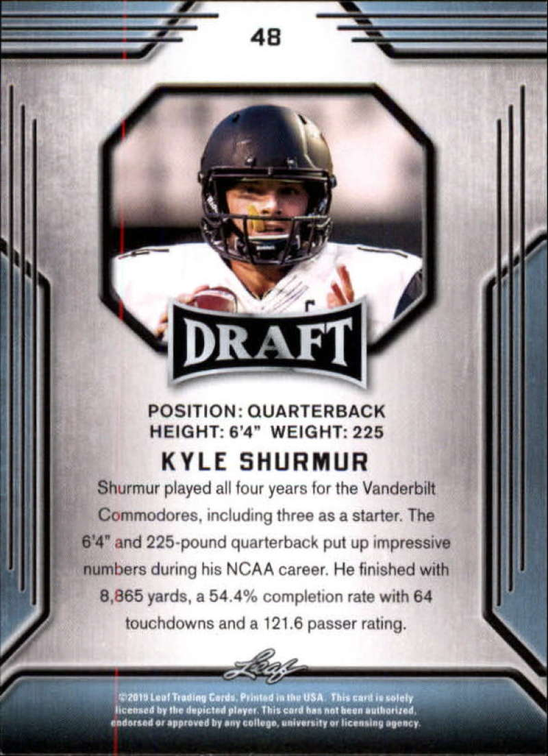 2019-Leaf-Draft-Football-Base-Singles-1-90-Pick-Your-Cards thumbnail 93