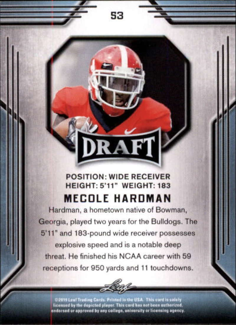 2019-Leaf-Draft-Football-Base-Singles-1-90-Pick-Your-Cards thumbnail 103