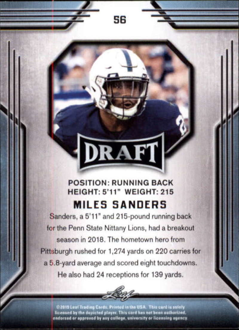 2019-Leaf-Draft-Football-Base-Singles-1-90-Pick-Your-Cards thumbnail 109
