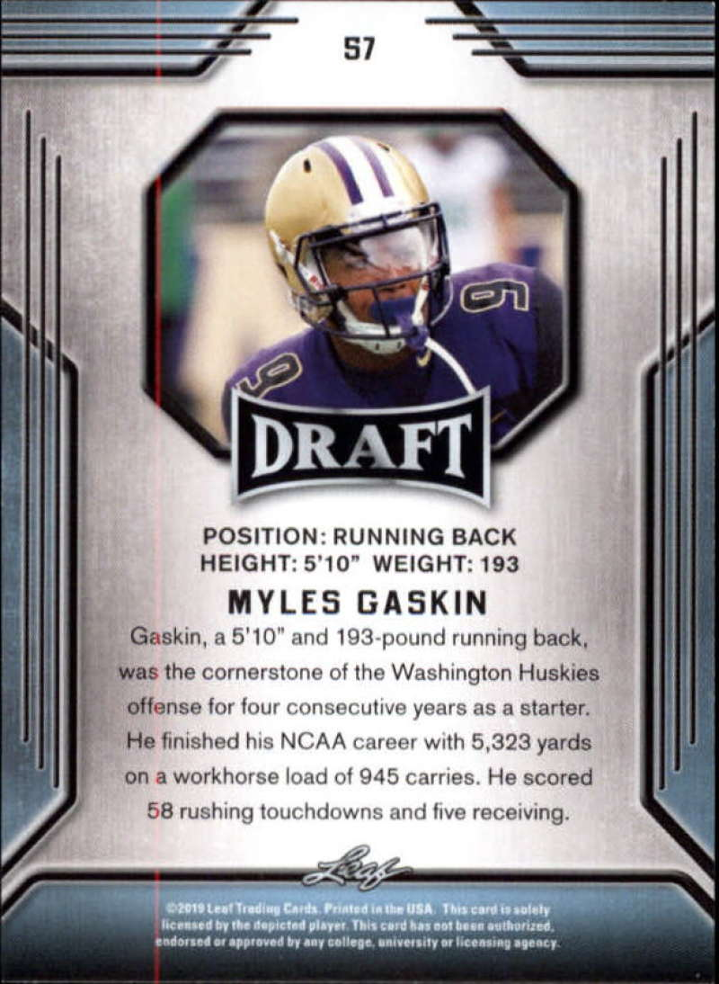 2019-Leaf-Draft-Football-Base-Singles-1-90-Pick-Your-Cards thumbnail 111