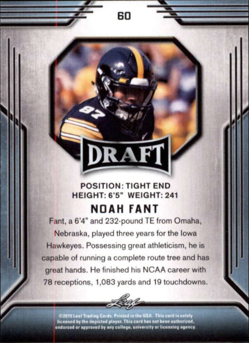 2019-Leaf-Draft-Football-Base-Singles-1-90-Pick-Your-Cards thumbnail 117