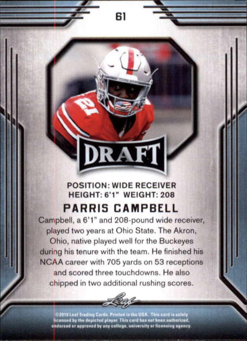 2019-Leaf-Draft-Football-Base-Singles-1-90-Pick-Your-Cards thumbnail 119