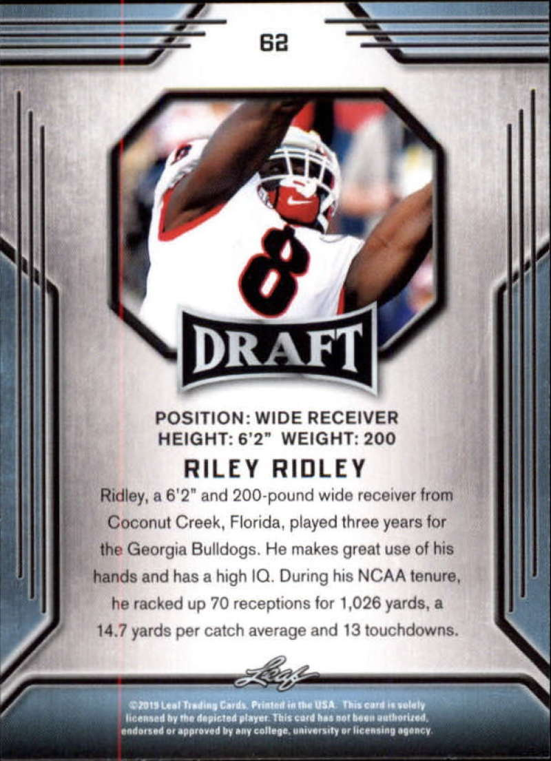2019-Leaf-Draft-Football-Base-Singles-1-90-Pick-Your-Cards thumbnail 121