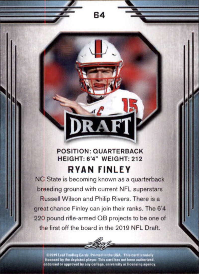 2019-Leaf-Draft-Football-Base-Singles-1-90-Pick-Your-Cards thumbnail 125