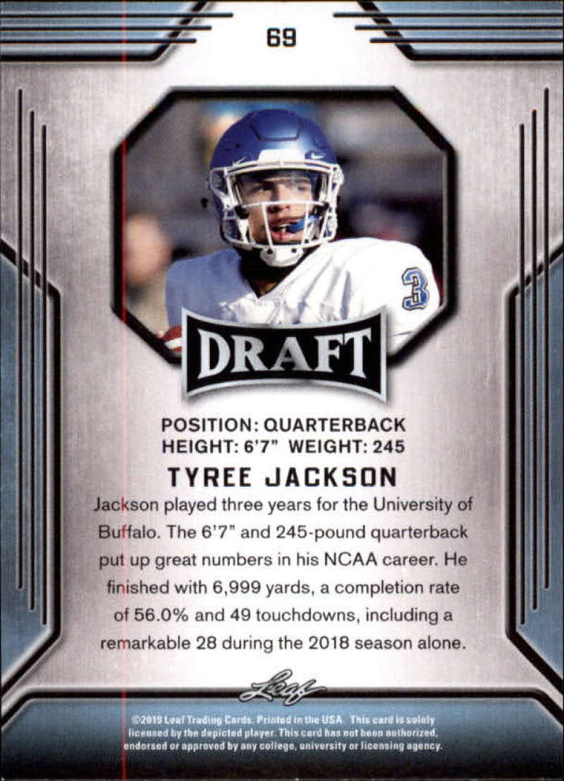 2019-Leaf-Draft-Football-Base-Singles-1-90-Pick-Your-Cards thumbnail 135
