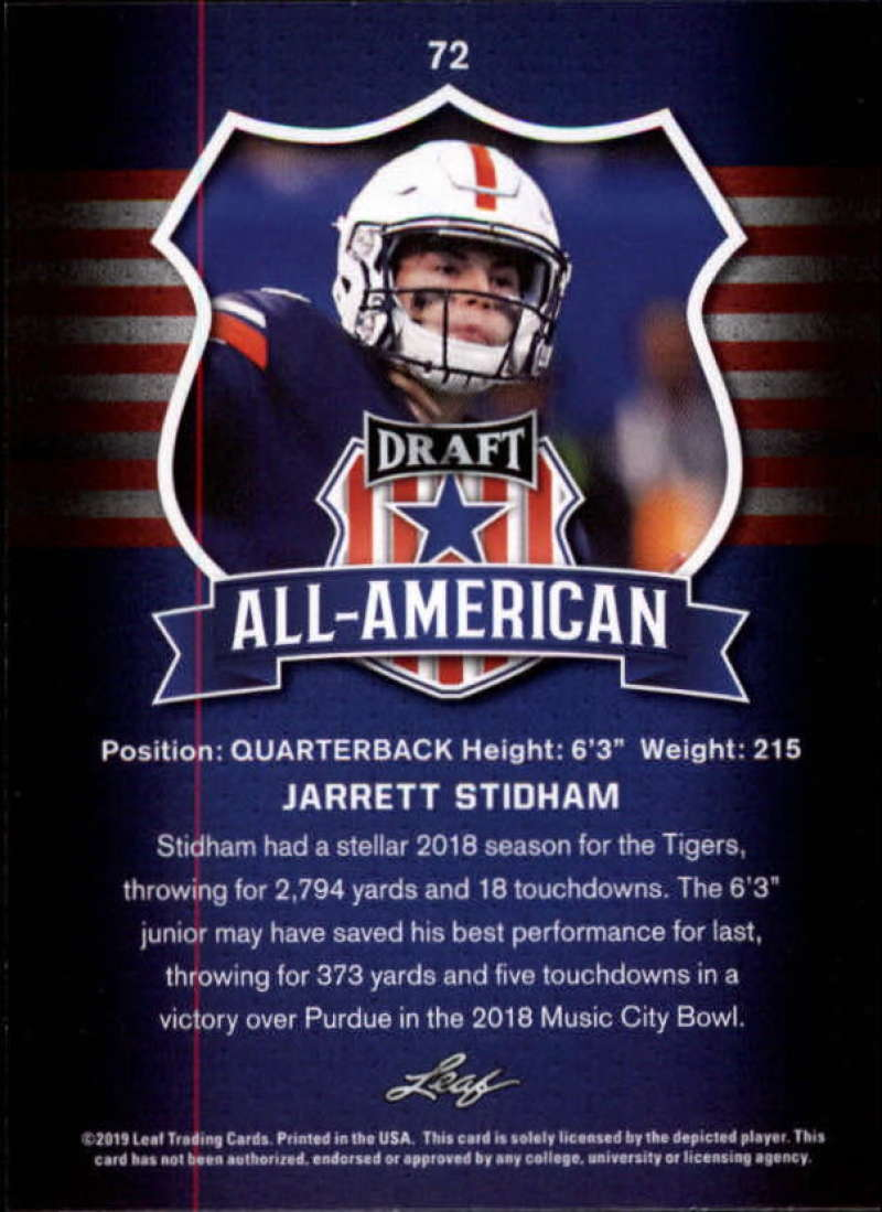 2019-Leaf-Draft-Football-Base-Singles-1-90-Pick-Your-Cards thumbnail 141