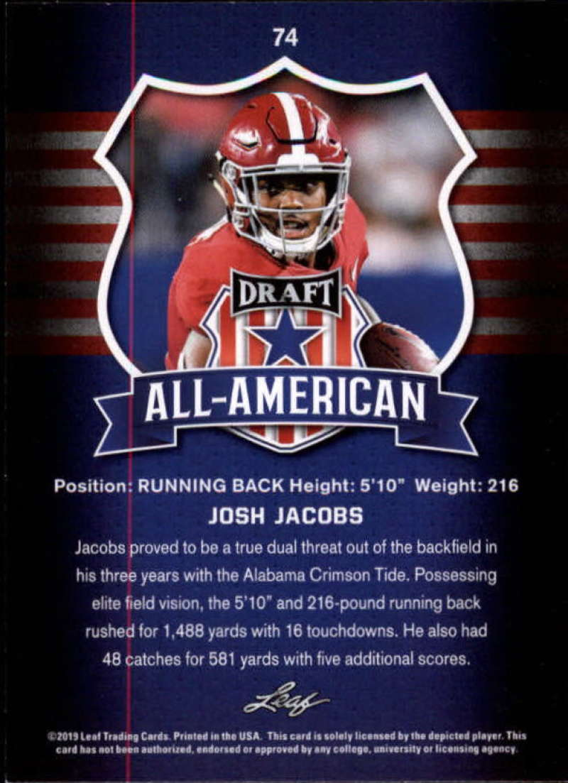 2019-Leaf-Draft-Football-Base-Singles-1-90-Pick-Your-Cards thumbnail 145