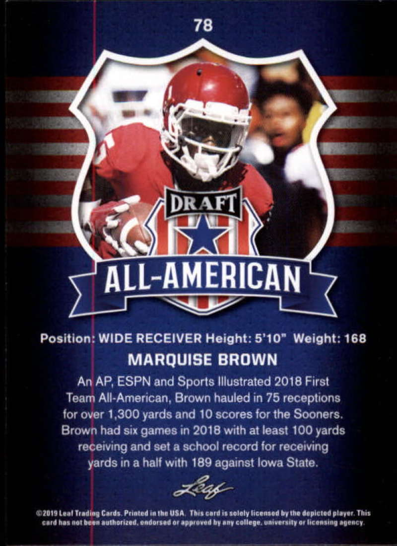 2019-Leaf-Draft-Football-Base-Singles-1-90-Pick-Your-Cards thumbnail 153