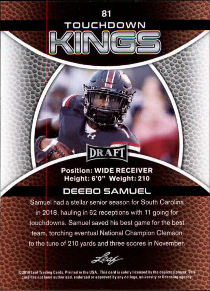 2019-Leaf-Draft-Football-Base-Singles-1-90-Pick-Your-Cards thumbnail 159