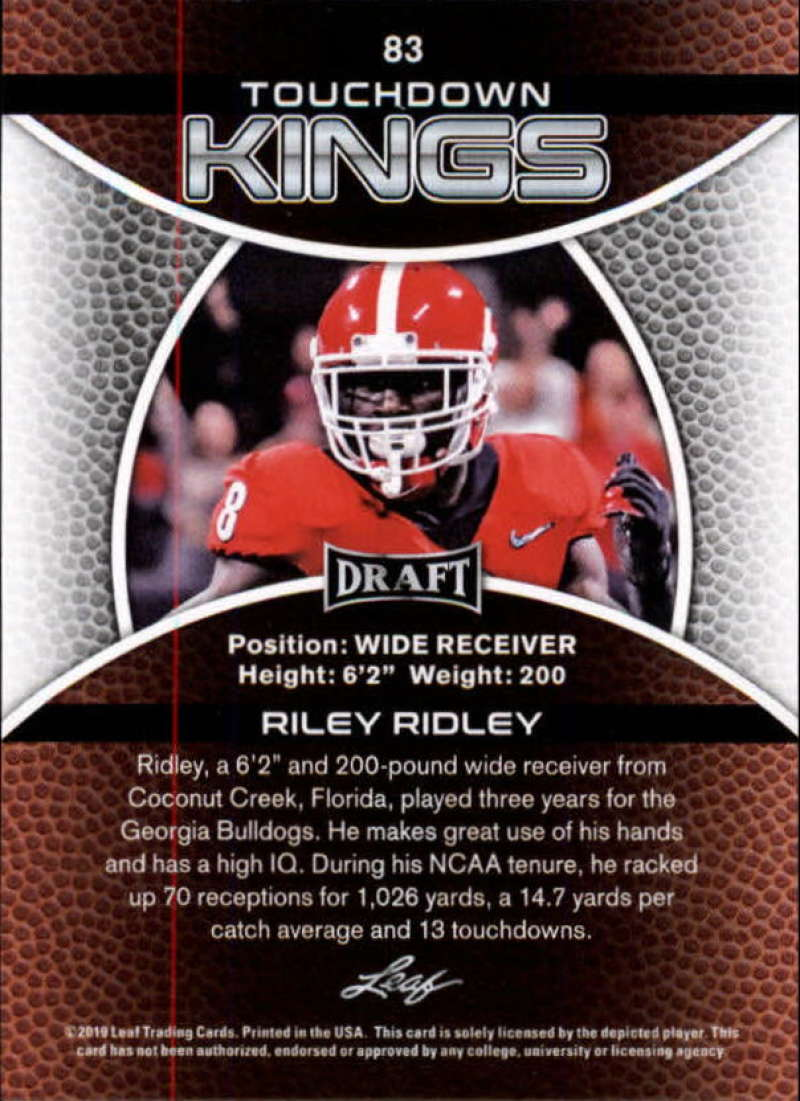 2019-Leaf-Draft-Football-Base-Singles-1-90-Pick-Your-Cards thumbnail 163