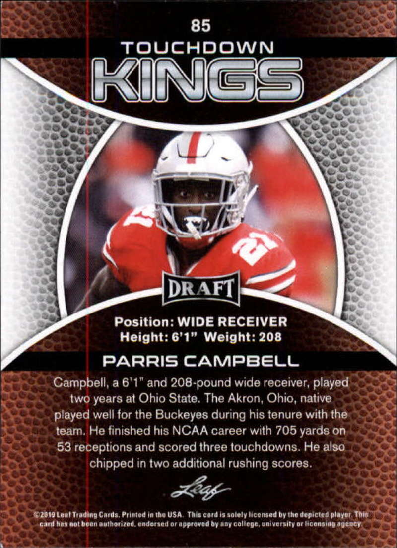 2019-Leaf-Draft-Football-Base-Singles-1-90-Pick-Your-Cards thumbnail 167