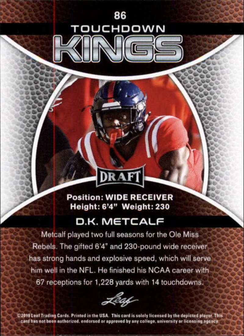 2019-Leaf-Draft-Football-Base-Singles-1-90-Pick-Your-Cards thumbnail 169