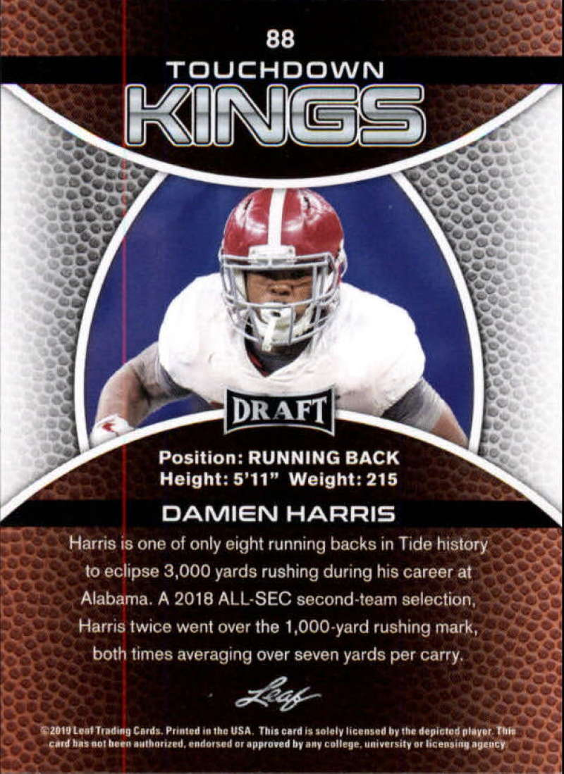2019-Leaf-Draft-Football-Base-Singles-1-90-Pick-Your-Cards thumbnail 173