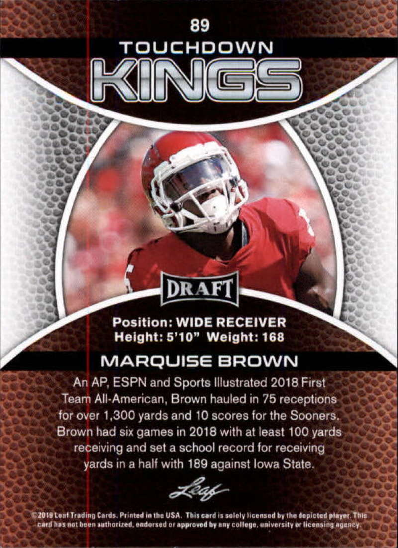2019-Leaf-Draft-Football-Base-Singles-1-90-Pick-Your-Cards thumbnail 175