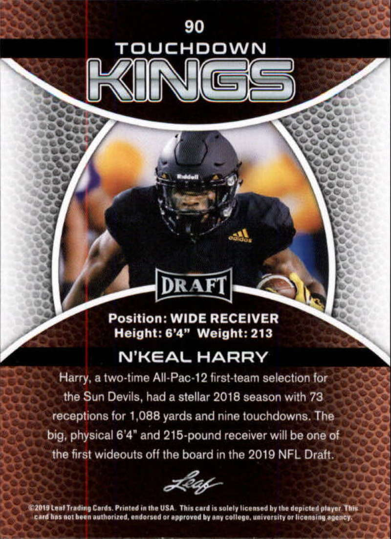 2019-Leaf-Draft-Football-Base-Singles-1-90-Pick-Your-Cards thumbnail 177