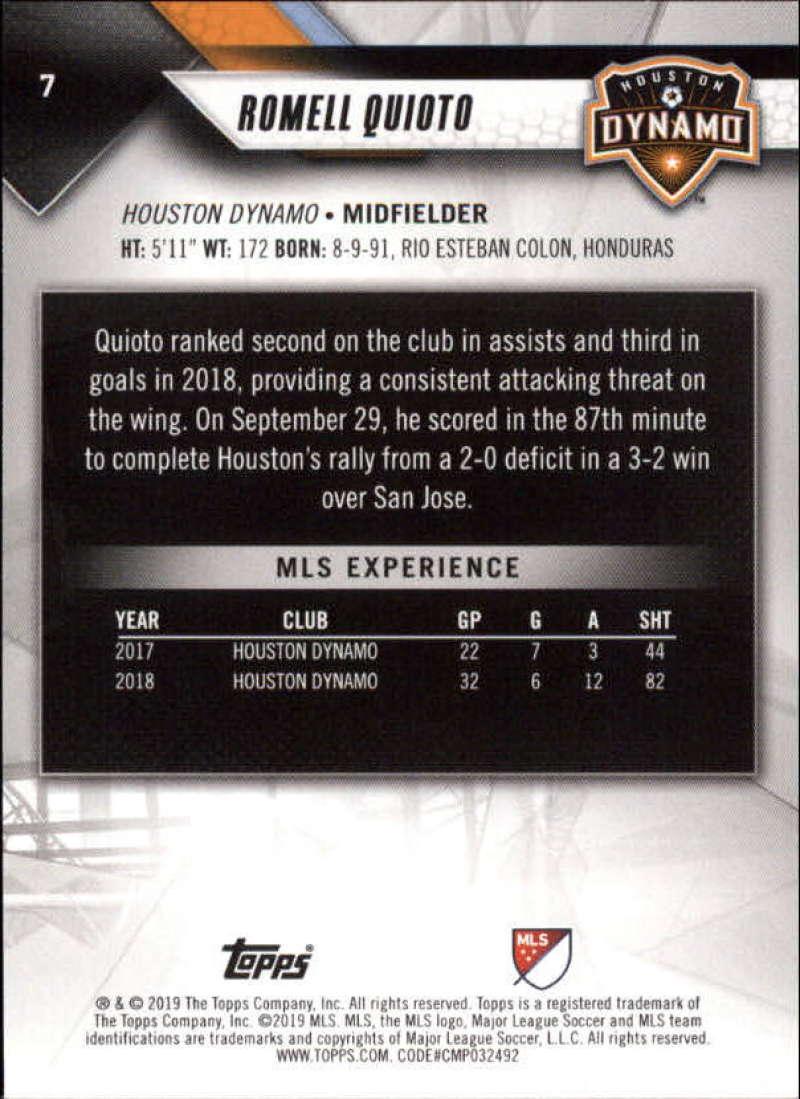 2019-Topps-MLS-Soccer-Base-Singles-1-200-Pick-Your-Cards thumbnail 15