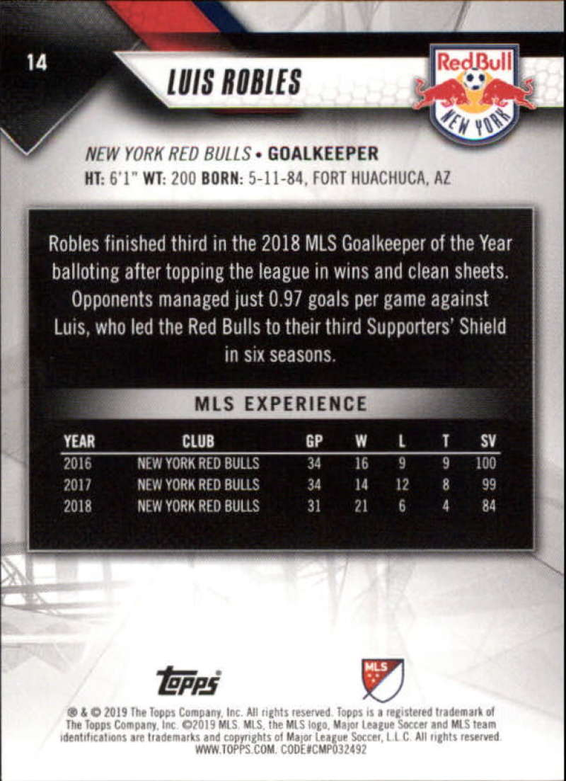 2019-Topps-MLS-Soccer-Base-Singles-1-200-Pick-Your-Cards thumbnail 29