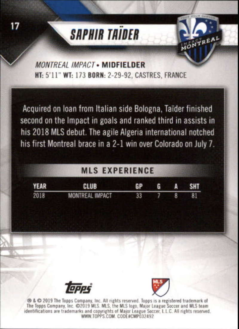 2019-Topps-MLS-Soccer-Base-Singles-1-200-Pick-Your-Cards thumbnail 35