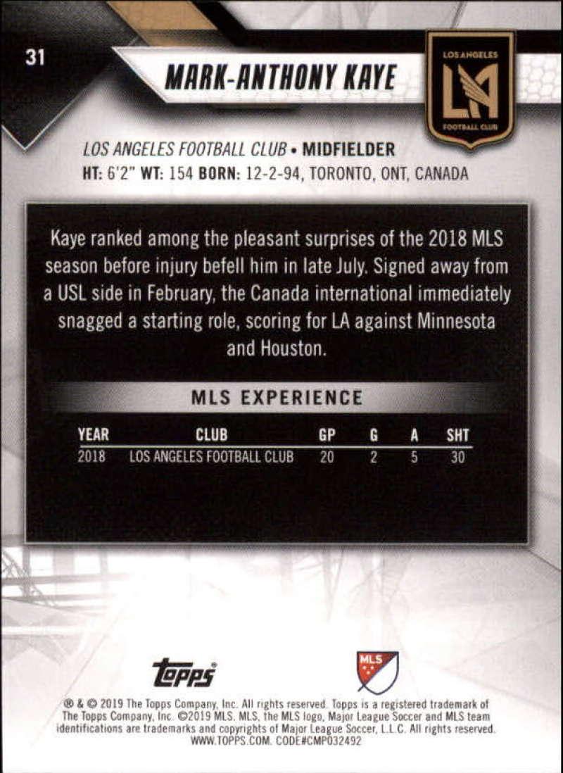 2019-Topps-MLS-Soccer-Base-Singles-1-200-Pick-Your-Cards thumbnail 61