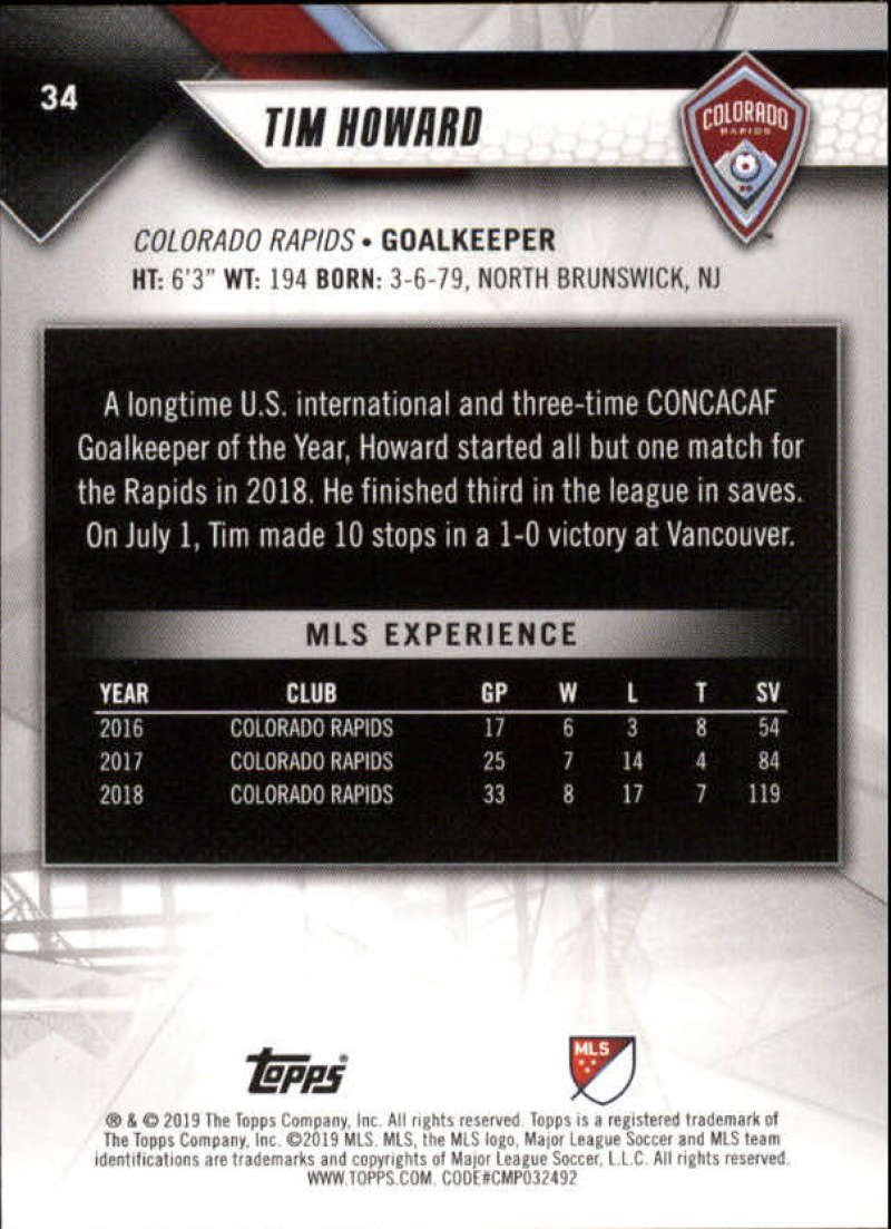 2019-Topps-MLS-Soccer-Base-Singles-1-200-Pick-Your-Cards thumbnail 67