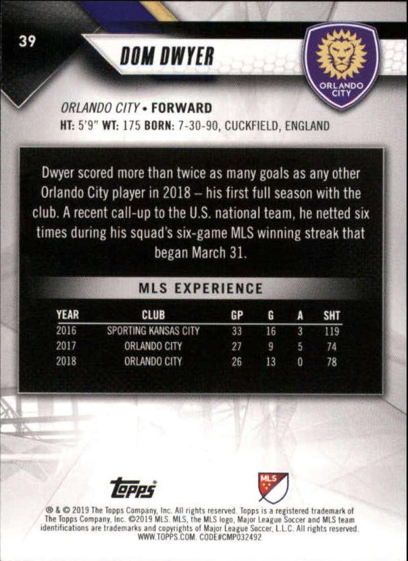 2019-Topps-MLS-Soccer-Base-Singles-1-200-Pick-Your-Cards thumbnail 77