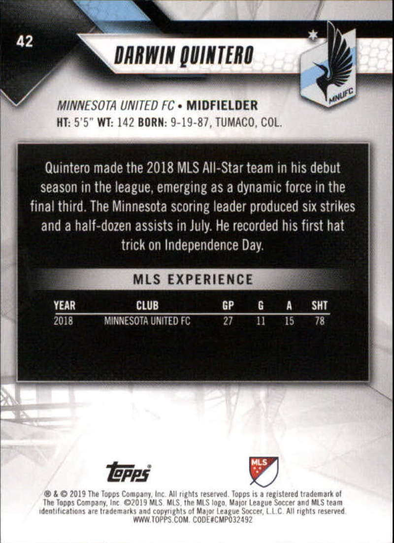 2019-Topps-MLS-Soccer-Base-Singles-1-200-Pick-Your-Cards thumbnail 81