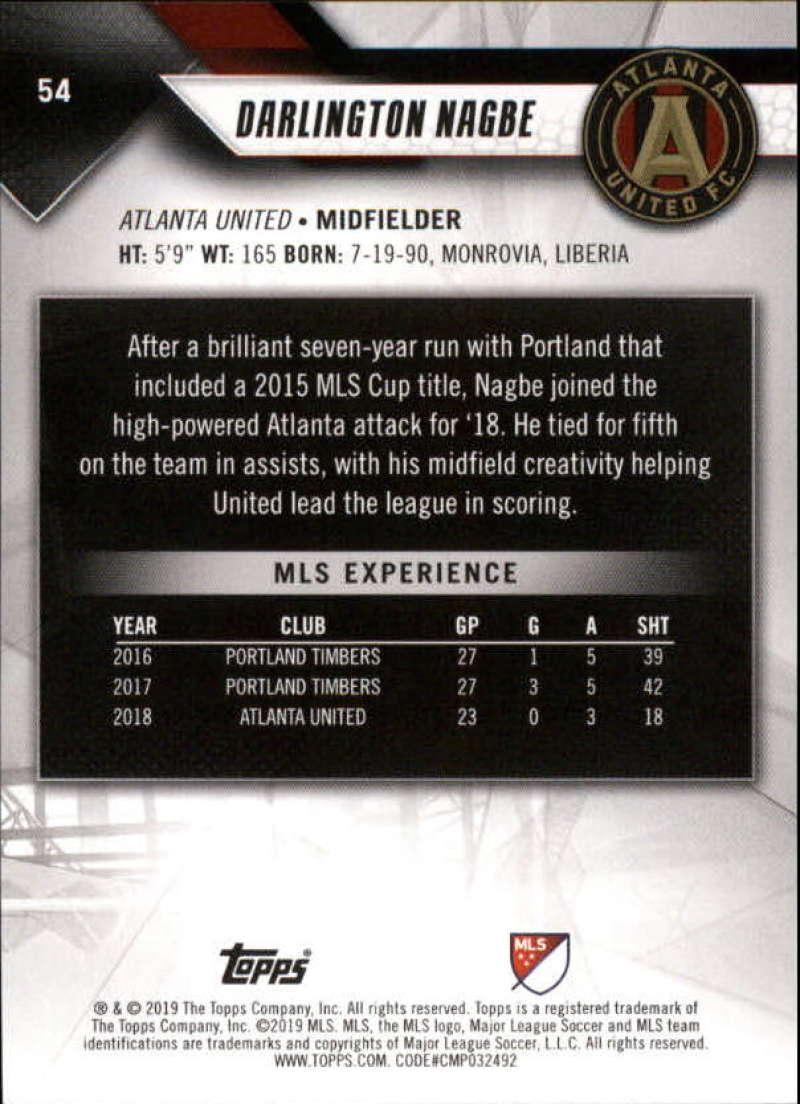 2019-Topps-MLS-Soccer-Base-Singles-1-200-Pick-Your-Cards thumbnail 107