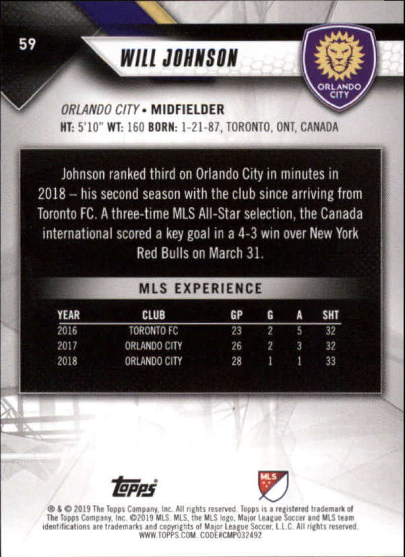 2019-Topps-MLS-Soccer-Base-Singles-1-200-Pick-Your-Cards thumbnail 115