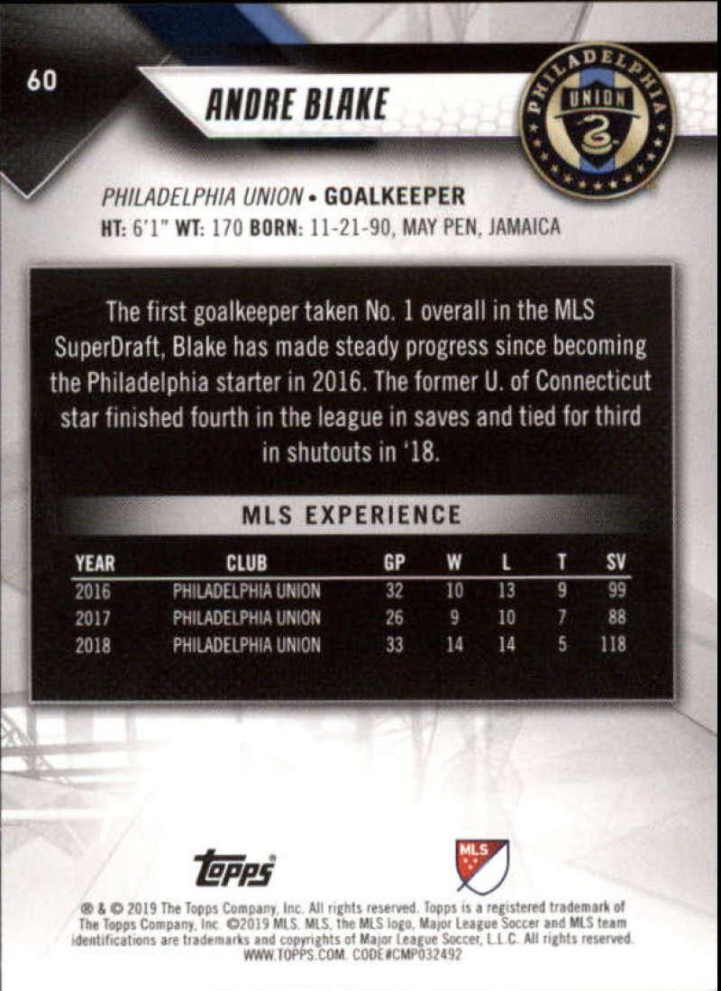 2019-Topps-MLS-Soccer-Base-Singles-1-200-Pick-Your-Cards thumbnail 119