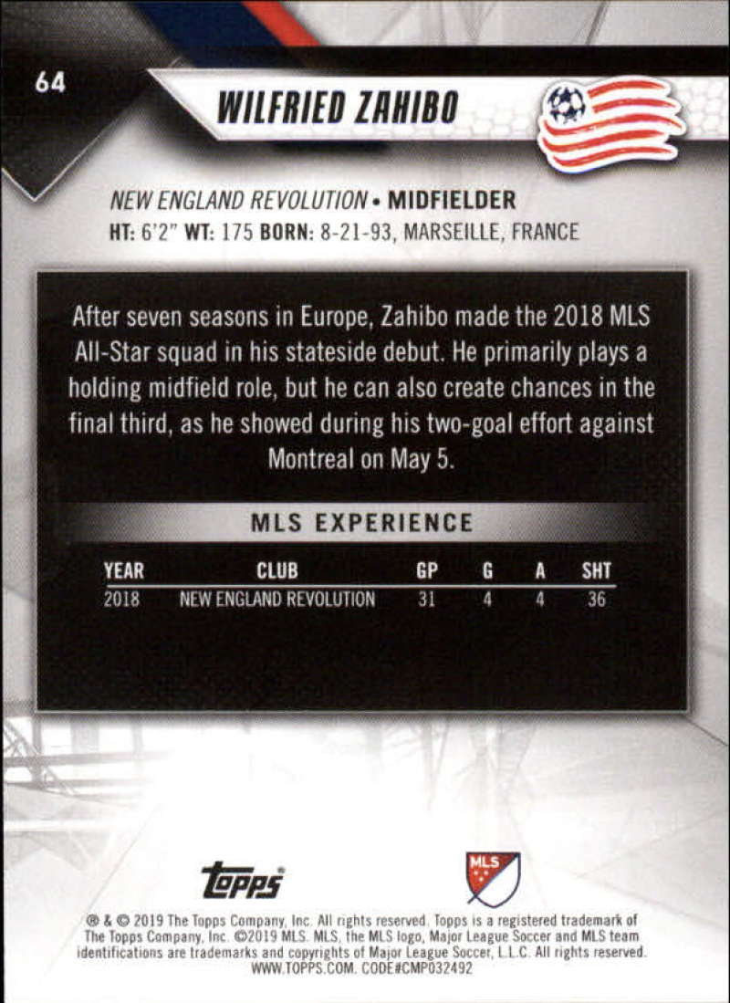 2019-Topps-MLS-Soccer-Base-Singles-1-200-Pick-Your-Cards thumbnail 125