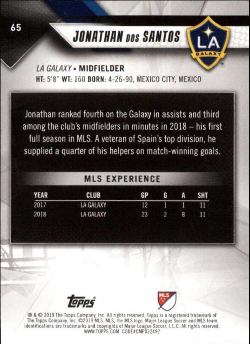 2019-Topps-MLS-Soccer-Base-Singles-1-200-Pick-Your-Cards thumbnail 129