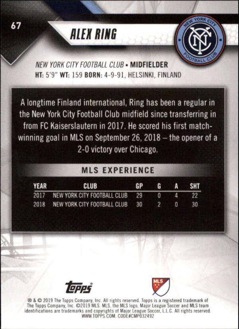 2019-Topps-MLS-Soccer-Base-Singles-1-200-Pick-Your-Cards thumbnail 131