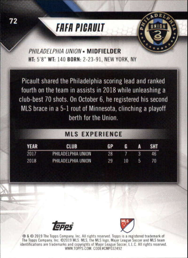 2019-Topps-MLS-Soccer-Base-Singles-1-200-Pick-Your-Cards thumbnail 139