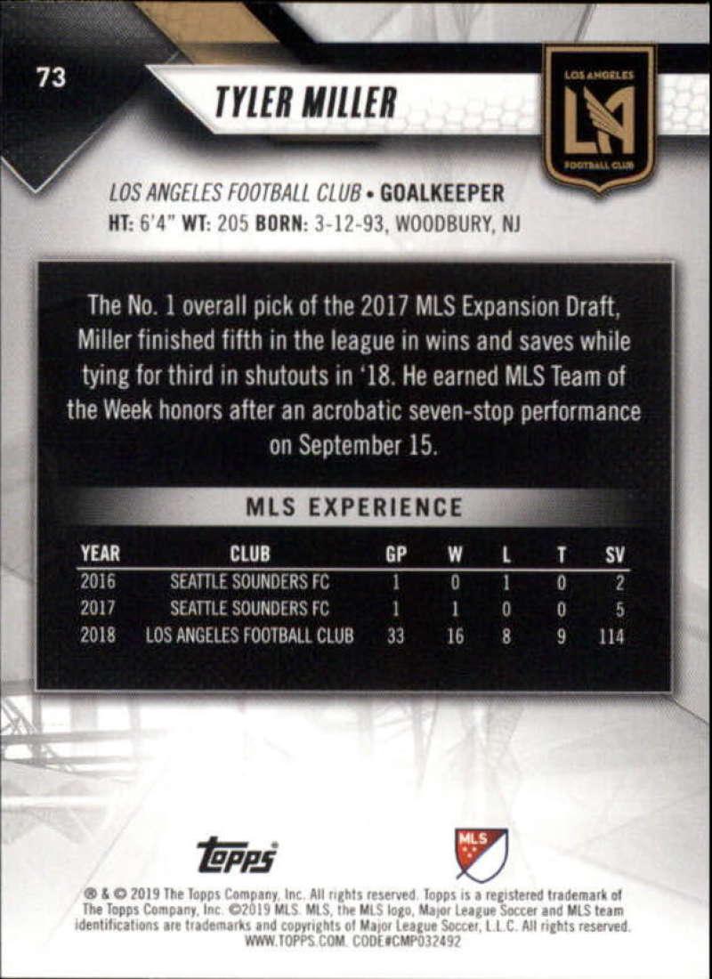 2019-Topps-MLS-Soccer-Base-Singles-1-200-Pick-Your-Cards thumbnail 143