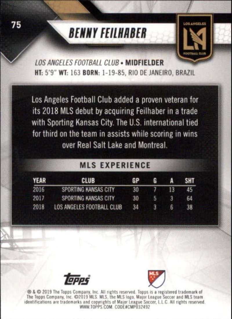 2019-Topps-MLS-Soccer-Base-Singles-1-200-Pick-Your-Cards thumbnail 147